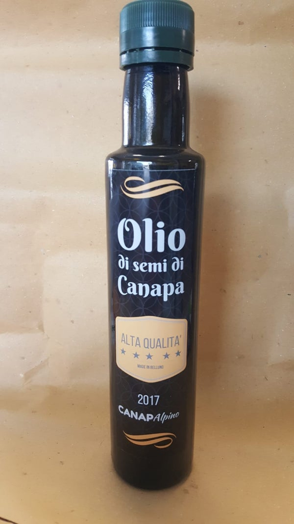 Image of Olio di Semi di Canapa 250ml