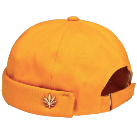 Image of Yellow [No cap] hat by Michael Oathes