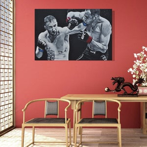 Image of DROPPING BOMBS (3x2ft canvas print)