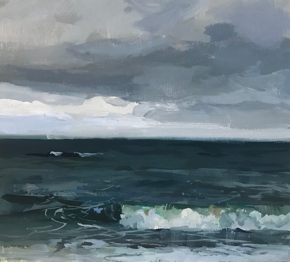 Image of Slate Blue Sea