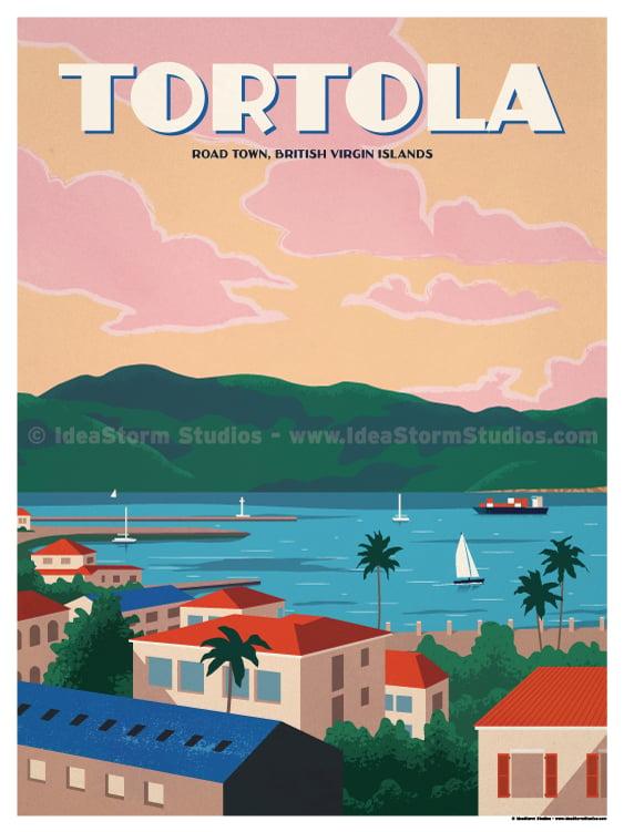 Image of Tortola Poster