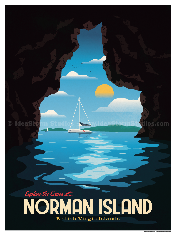 Image of Norman Island Poster