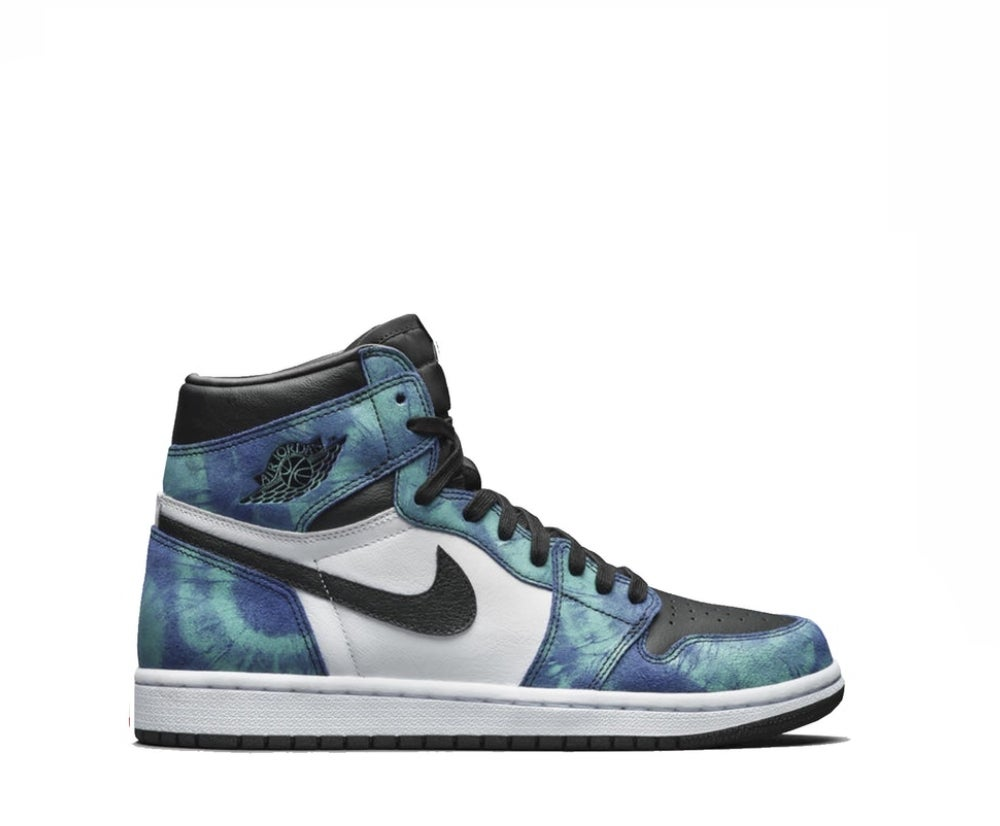 Image of  NIKE AIR JORDAN 1 RETRO HIGH TIE DYE (W) 555088-500