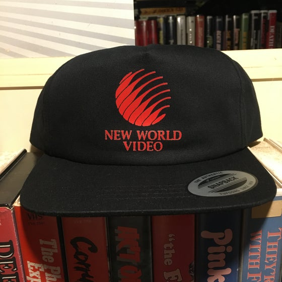 Image of New World Video Hat Unstructured SnapBack or Trucker Mesh