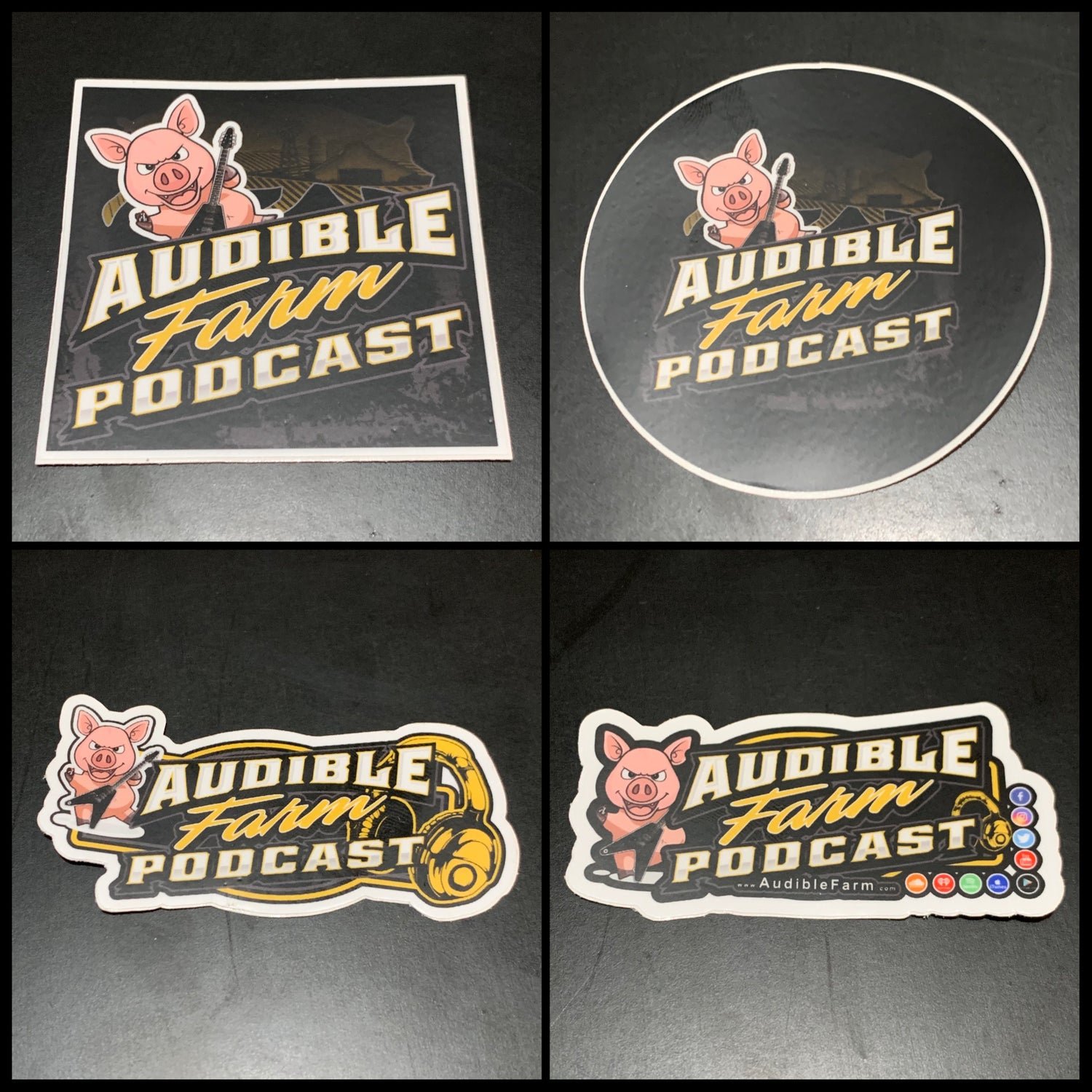 Audible Farm Standard Stickers