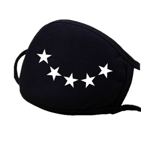 Image of Stars Fashion Face mask