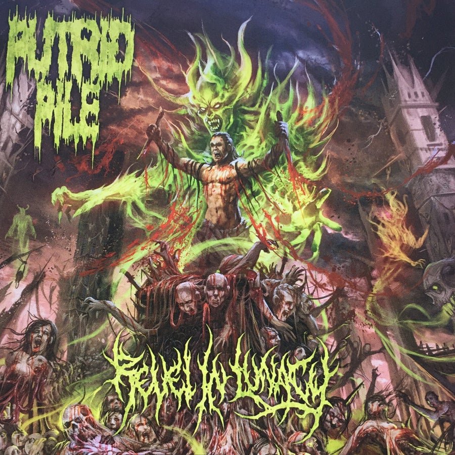 Image of Putrid Pile - Revel In Lunacy CD