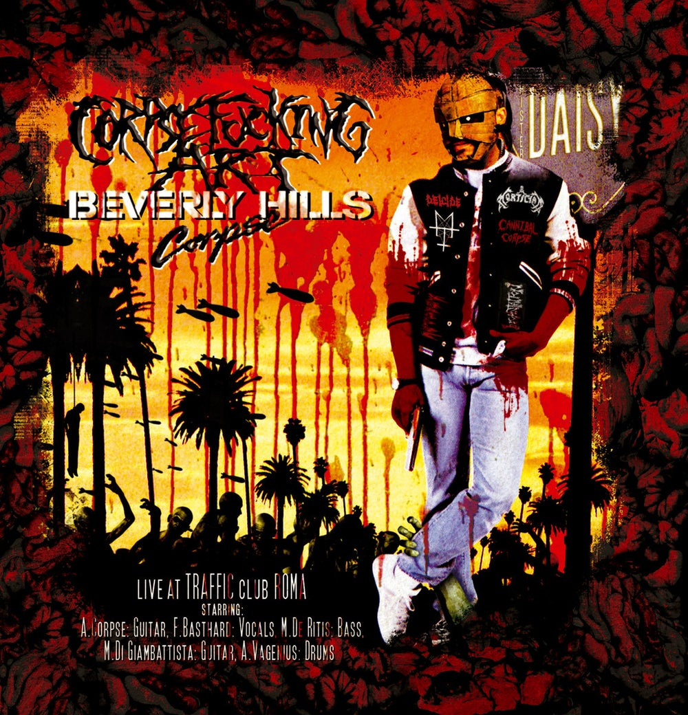 Image of Corpsefucking Art - Beverly Hills Corpse (LIVE) CD