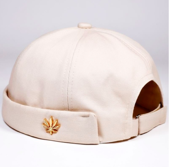 Image of Beige [no cap] Hat by Michael Oathes