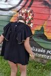 Vestido · bolboreta · muselina