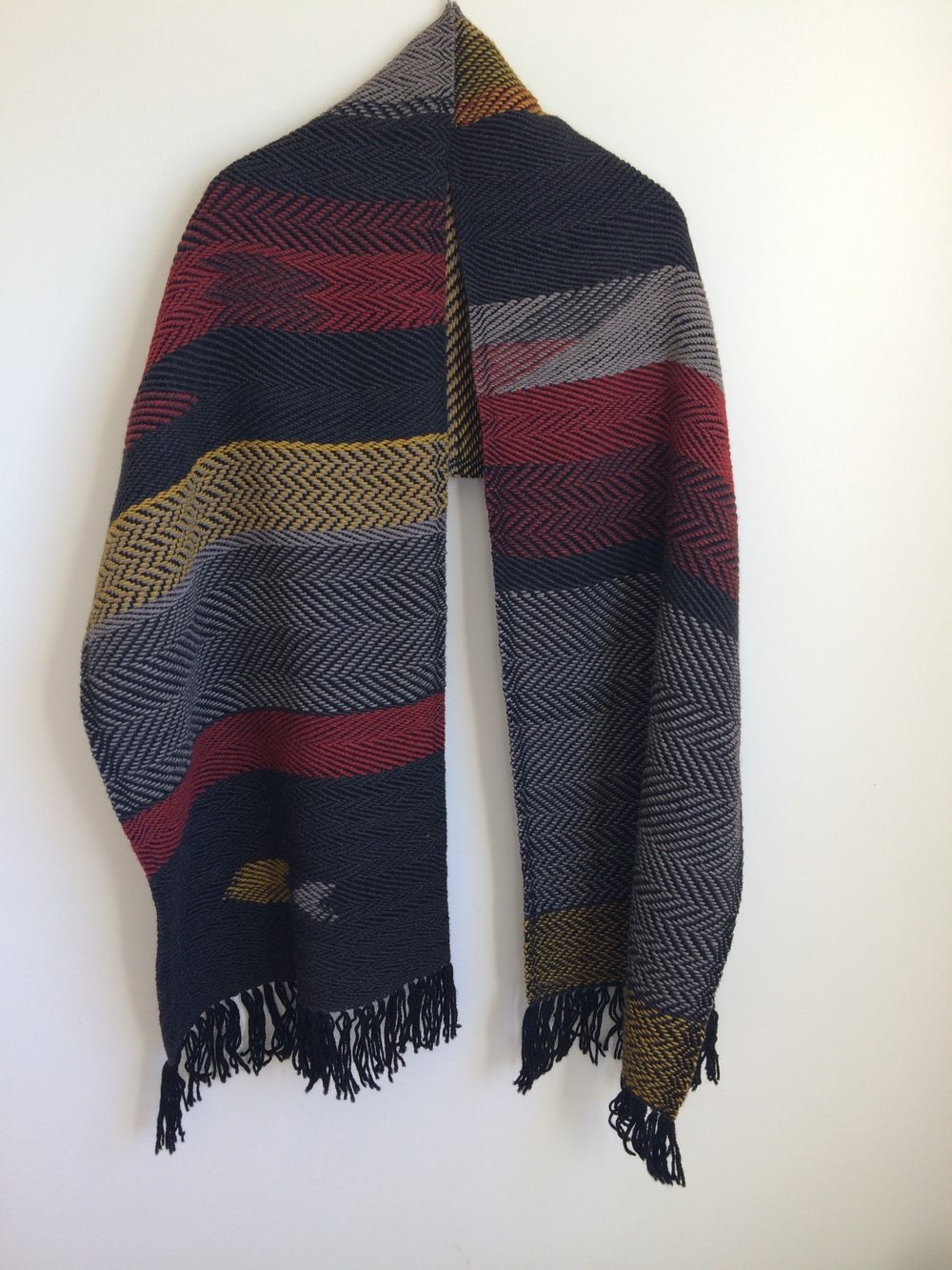 Image of Custom Patterned Woven Shawls + Scarves // MADE TO ORDER