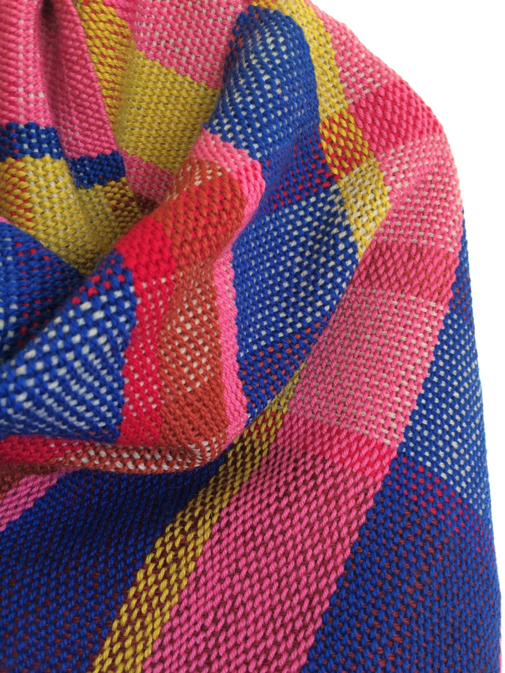 Image of Custom Woven Plaid Shawls + Scarves  // MADE TO ORDER