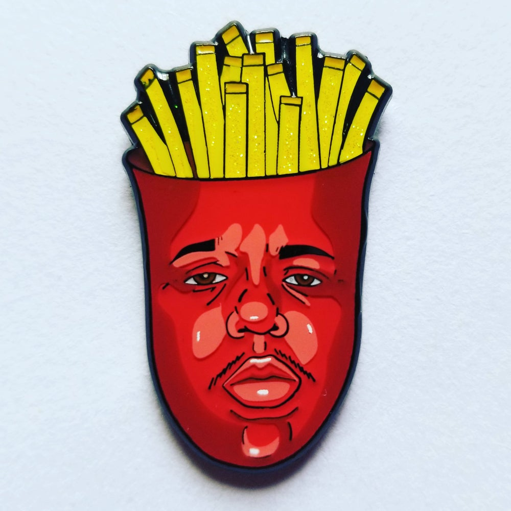 Image of BIGGIE Fries Collab with @iamt00nz