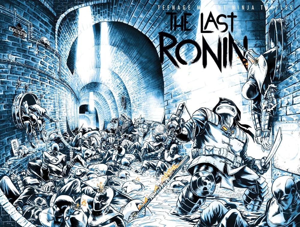 tmnt the last ronin artwork