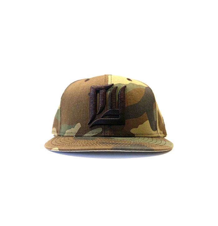 Image of 2520 X NEW ERA NEW NEW YORK (3D) 9FIFTY SNAPBACK  - CAMO
