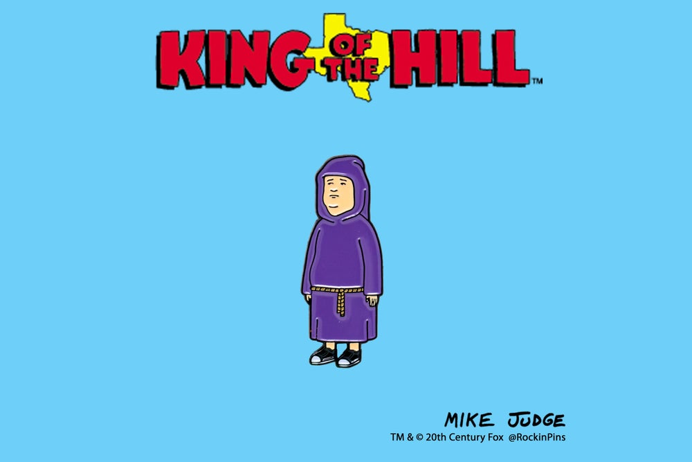 Image of King of the Hill - Bobby Hill The Acolyte Enamel Pin