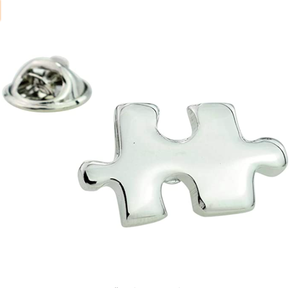 Image of TAHG SIGNATURE Lapel Pin Badge