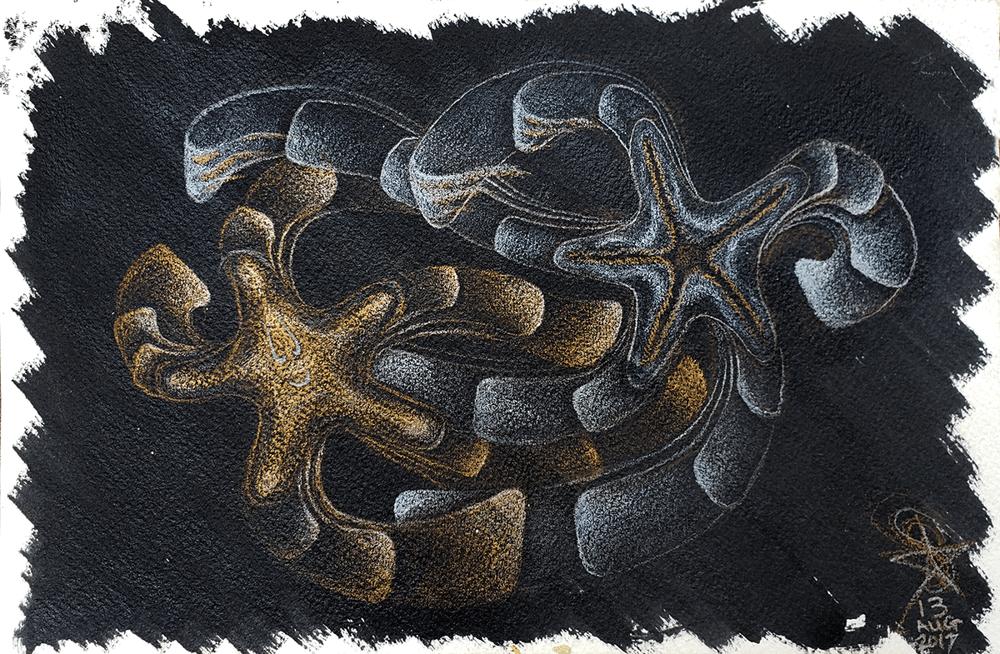 Image of 'Starbursted!'  drawing