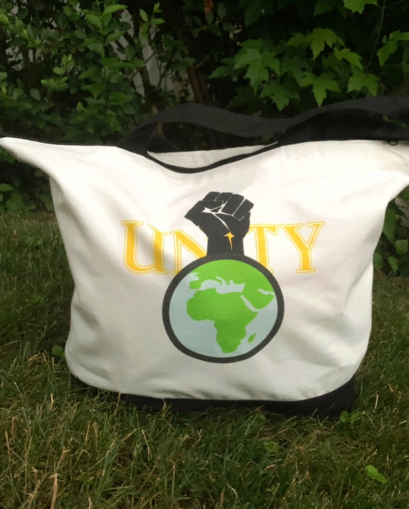 "Image of ""Unity"" Two-Tone Tote Bag"