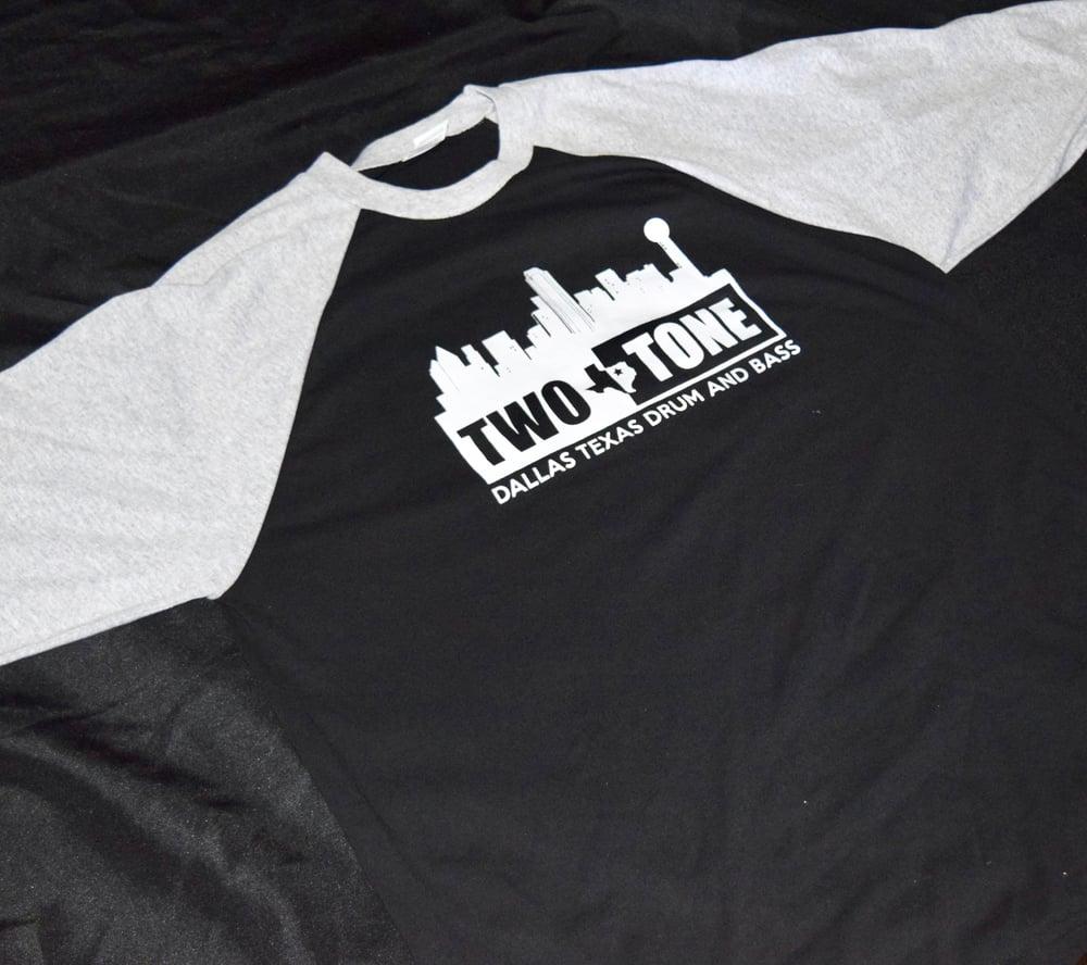 Two:Tone Dallas Skyline 3 Quarter Sleeve