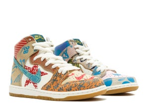 "Image of NIKE SB ZOOM DUNK HIGH PREM ""WHAT THE"""