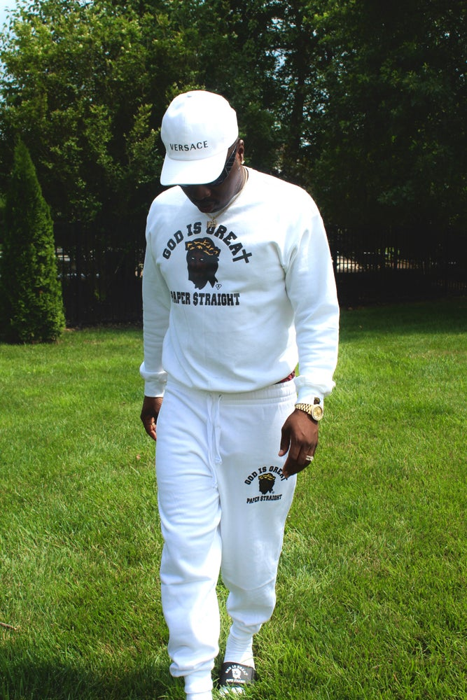 Image of GIGPS SZN 20 WHITE SWEATSUIT