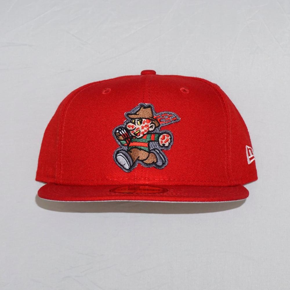 Freddy Custom 59FIFTY Red