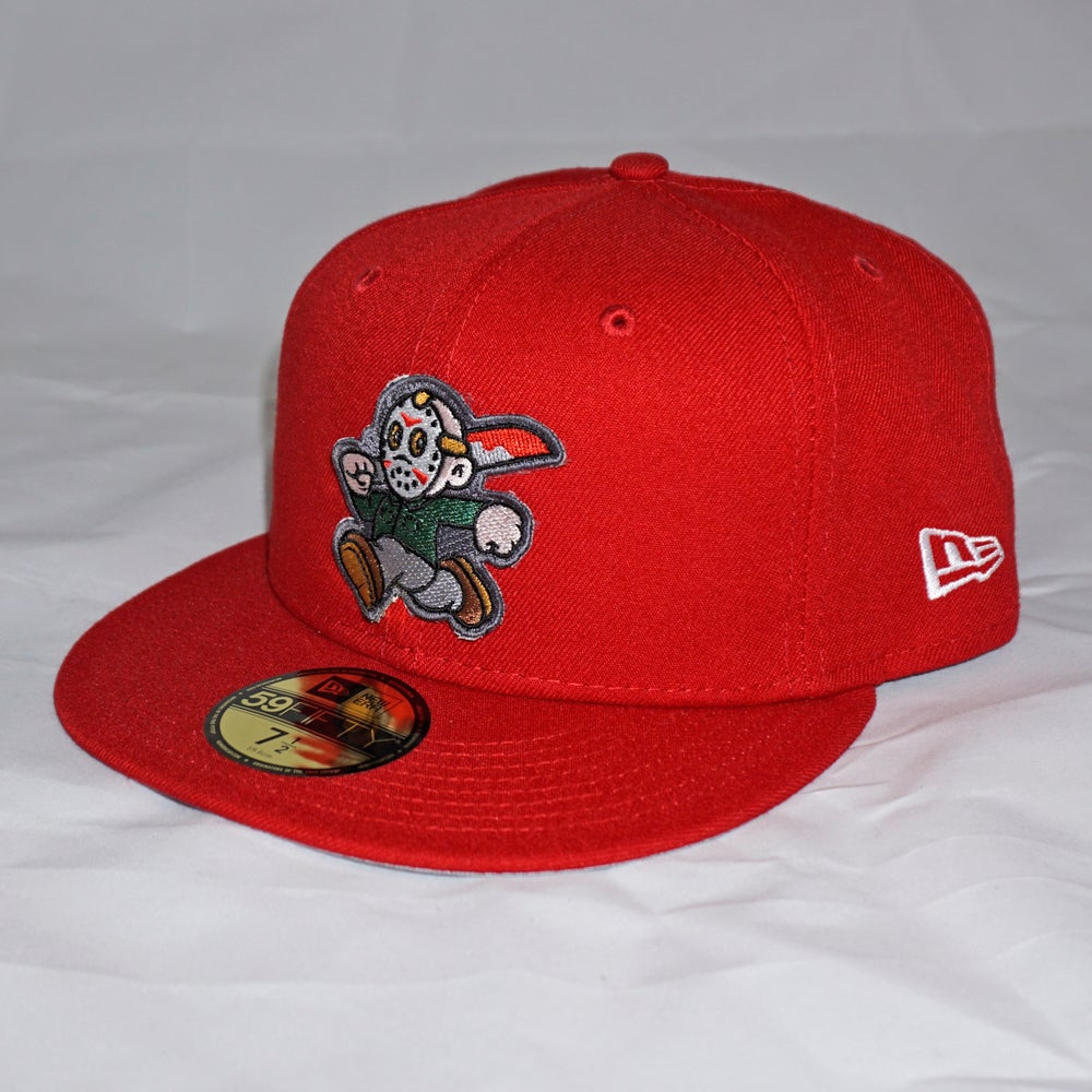 Jason Custom 59FIFTY Red