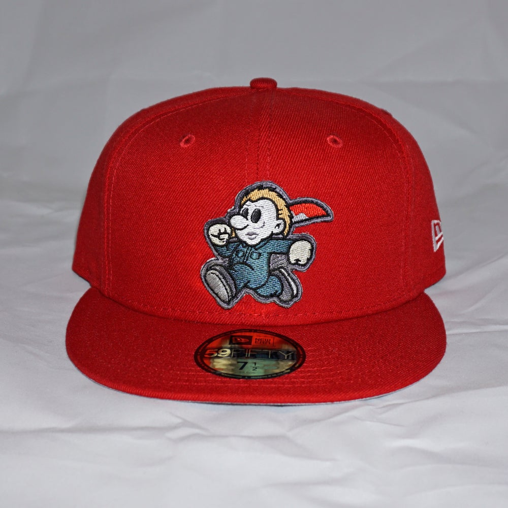 Mikey Custom 59FIFTY Red