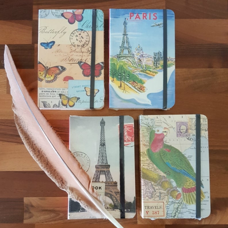 Image of Small Notebook ~ Four Designs