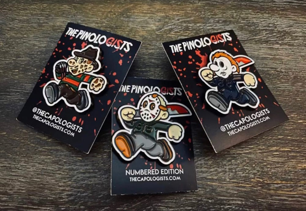 Series 1 Horror Pins