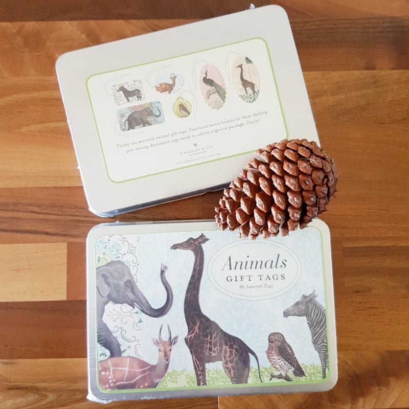Image of Decorative Gift Tags ~ Animals
