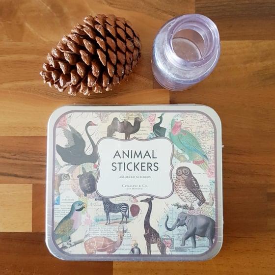 Image of Decorative Labels ~ Animals