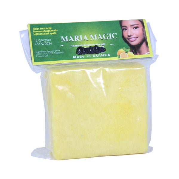 Image of YLemon+Shea Butter Soap-naturally cleans dirt, oil, and pollutants from your skin, + superfood.