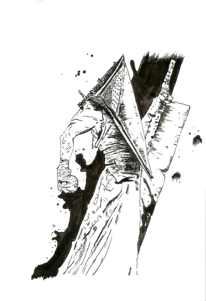 Image of Red Pyramid Thing