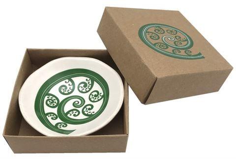 Jo Luping Design - Fern Frond Porcelain Bowl .