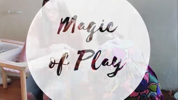 Image of Online 5 Day Workshop Magic of Play- Introduction to Sensory Play