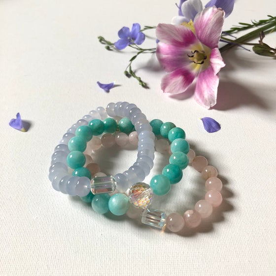 Image of Gemstone Stretch Bracelet