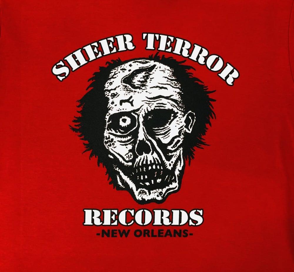 Image of Sheer Terror Records Logo Shirt