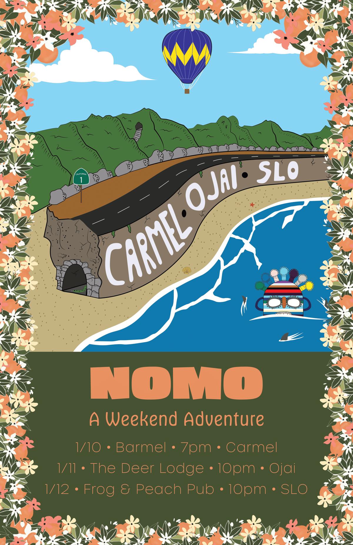 "NOMO ""A Weekend Adventure"" Poster"