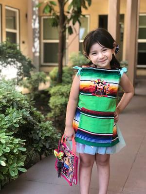 Maria Muñeca  Floral Kids Apron