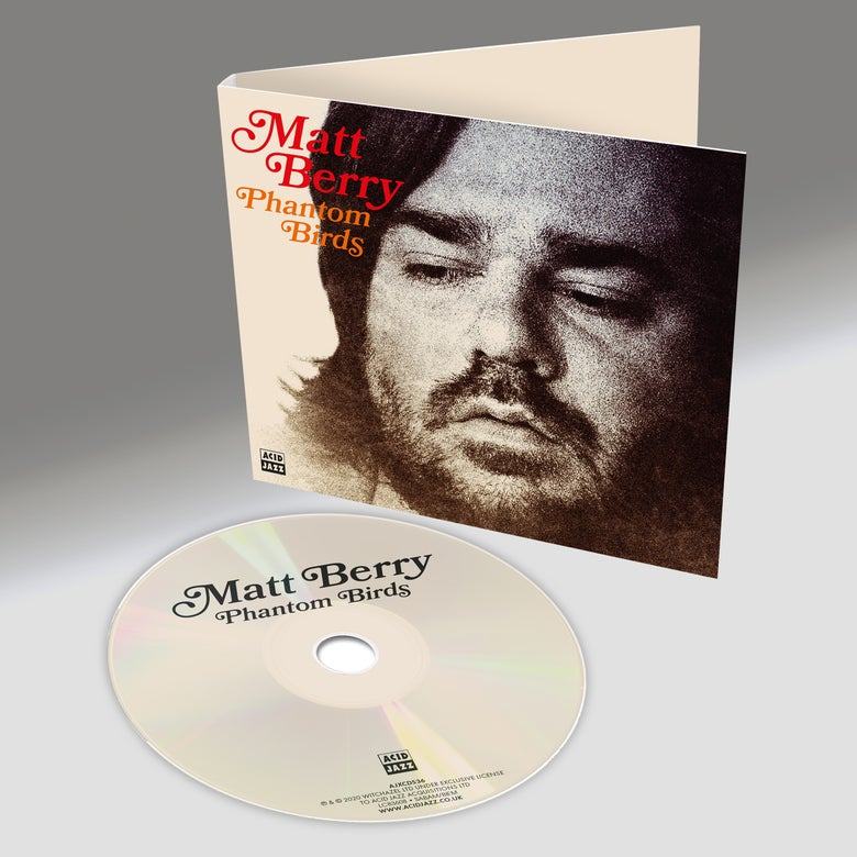 Image of Matt Berry - Phantom Birds (Digipack CD)