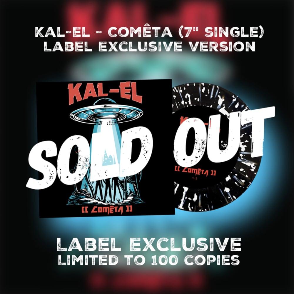 """Kal-El - Comêta (7"""" 45rpm splatter vinyl)"""