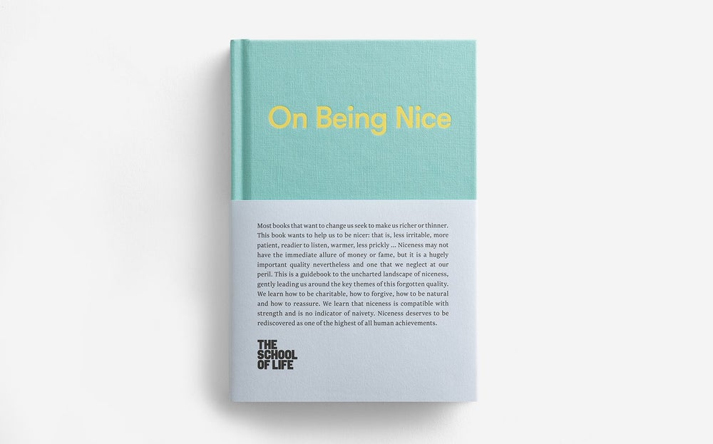 Image of On Being Nice