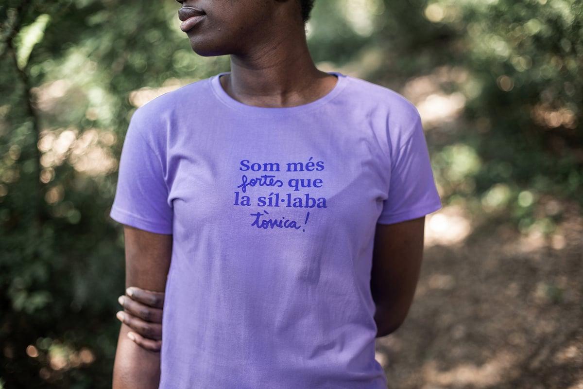 Image of Samarreta dona - SÍL·LABA TÒNICA