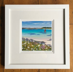 Image of Red sails, Arisaig giclee print