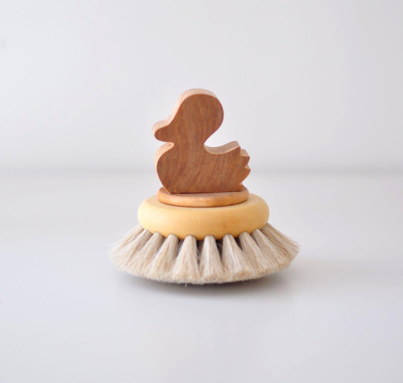Image of Brosse de bain canard