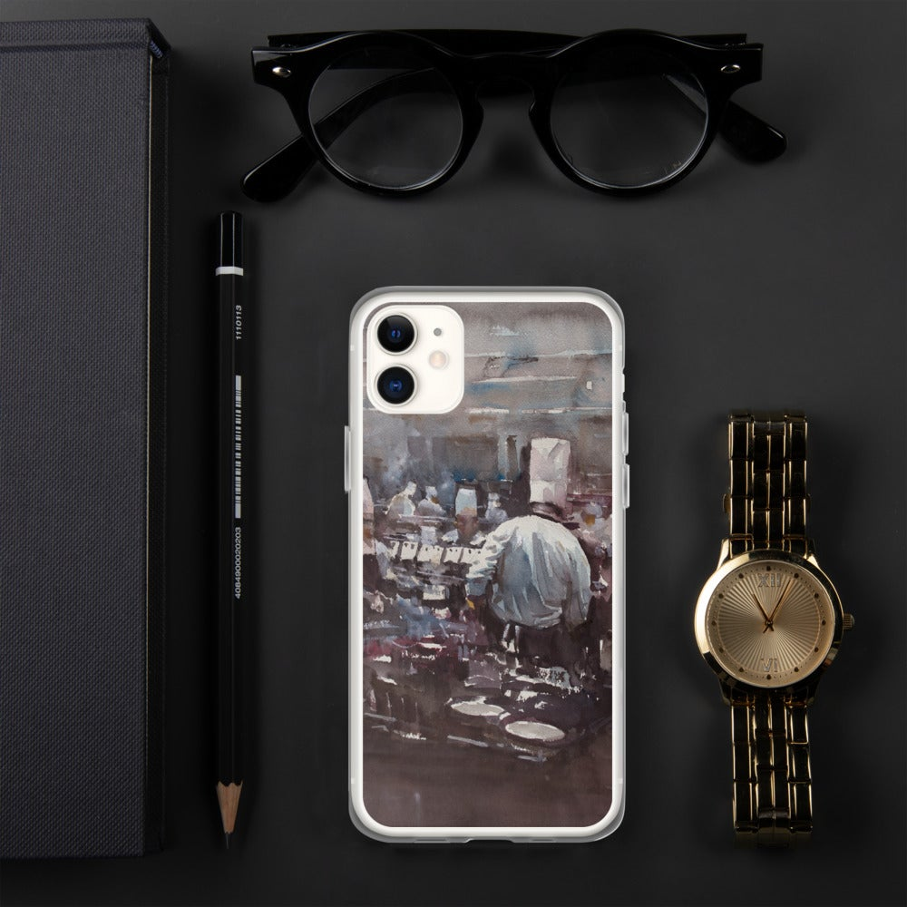 Image of ALL NIGHT iPhone Case
