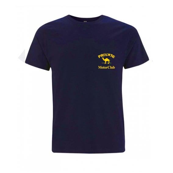 Image of Private Camel Club T-shirt Navy