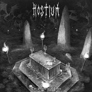 Image of HOSTIUM - The Bloodwine Of Satan LP